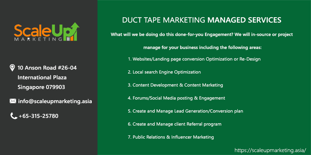 Generate More Leads & Sales Using Our Duct Tape Marketing