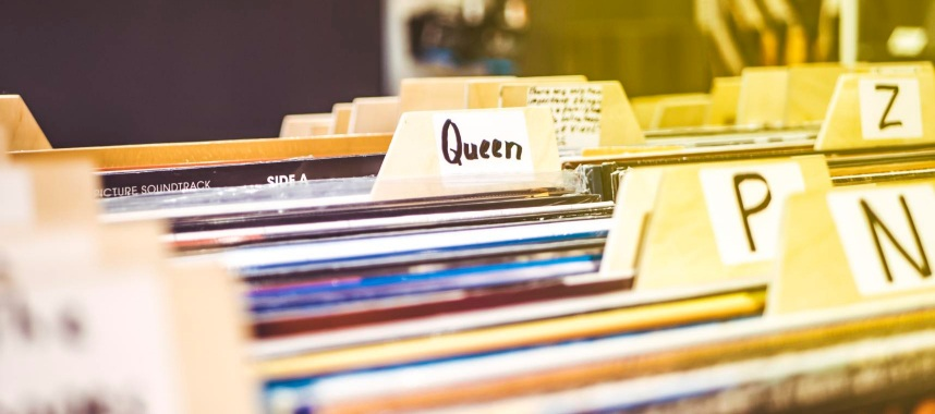 piled-up colorful customer records, this is an example of keeping customer data in an efficient manner